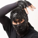 覆面書道家の憲真の素顔がイケメン!忍者マスクの意味や理由とは
