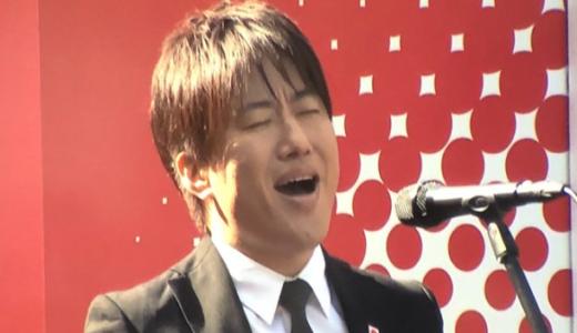 【動画フル】コブクロ小渕健太郎の国歌独唱に選手も騒然?日本選手権に緊張?