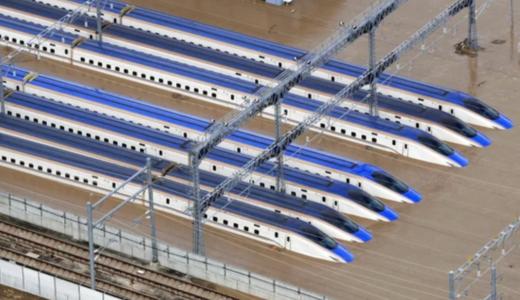 【北陸新幹線】水没被害額はいくら?廃車なら328億円損害で今後の影響は?