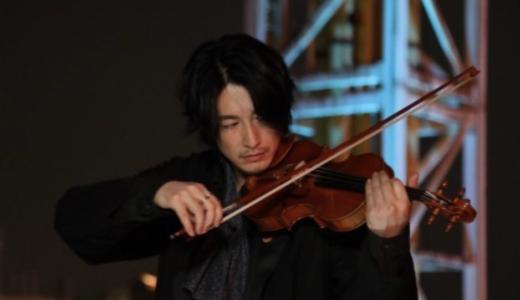 【動画】ディーンフジオカはバイオリン弾ける?シャーロック撮影合間に練習?