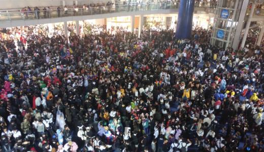 【2019年】ハロウィンで名古屋栄オアシス21がヤバい!コスプレサミットよりも人が多い?
