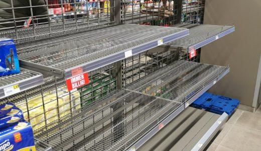 スーパーで品薄の商品はどれ?冷凍食品やカップ麺の他に生鮮食品も